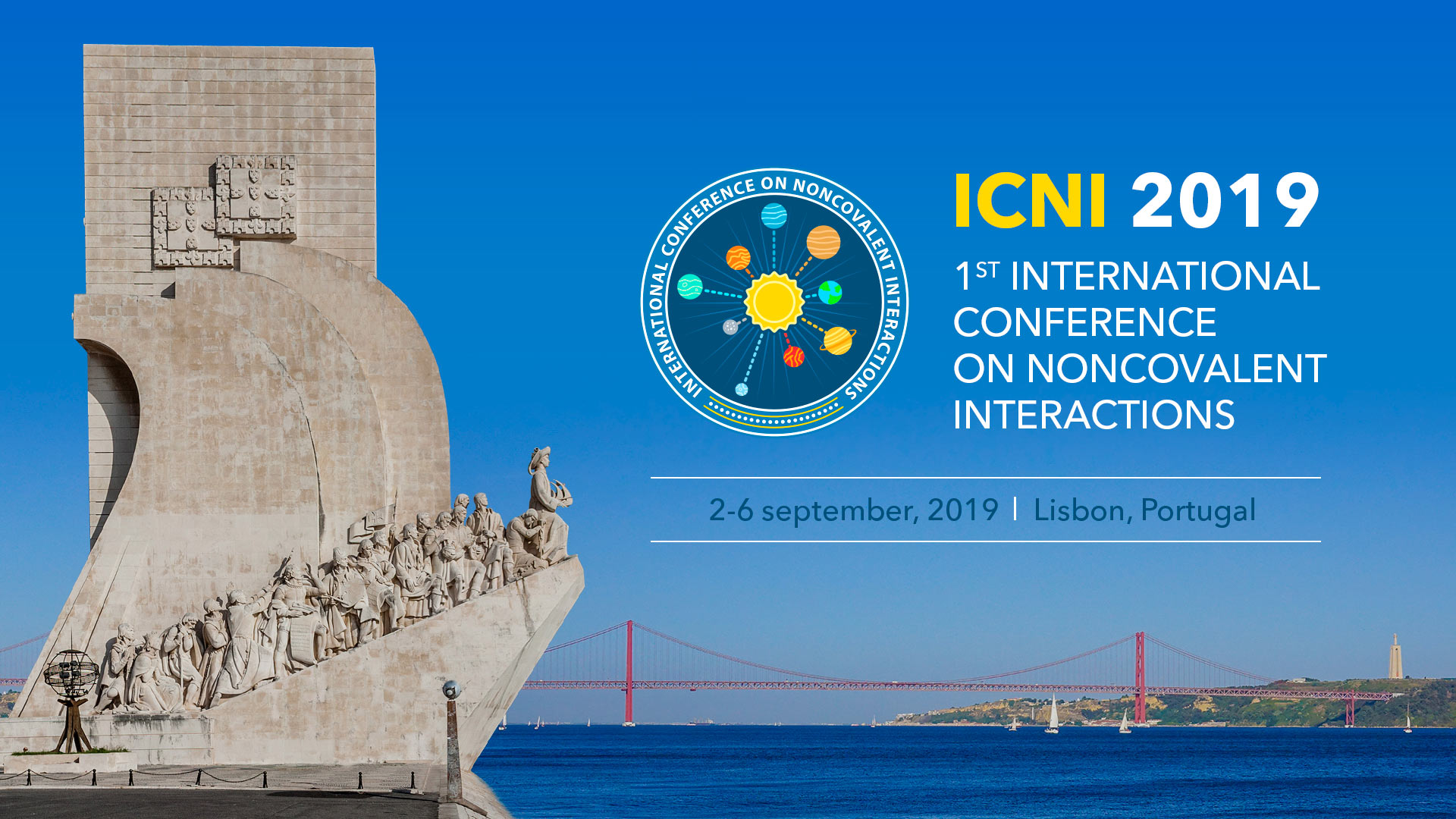 1st International Conference on Noncovalent Interactions (ICNI 2019)